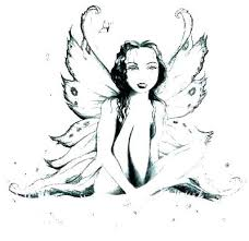 Fairies Coloring Pages For Adults Coloring Pages Adult Coloring