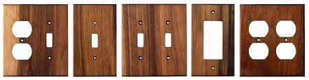 wood switch plate covers outstanding plates unfinished wall com home ideas 40