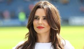 cheryl cole looked as stunning as ever as she took to the runway at paris fashion week walking in the l oreal makeup off white fashion show
