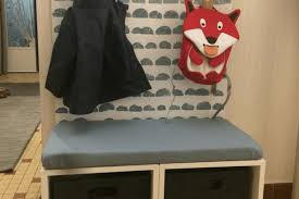 kid s closet in the hallway perfect for little coats shoes ikea ers