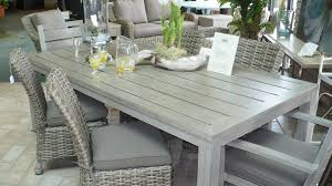 sophisticated gray wicker outdoor furniture on grey patio chair