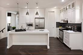 Modern white shaker kitchen Color Scheme White Kitchen Cabinets Hgtvcom White Kitchen Cabinets Modern Kitchen Cardel Designs