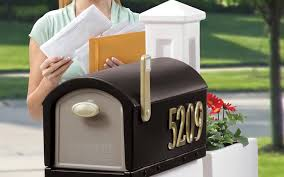Residential mailboxes side view Cast Mailbox Buildcom Best Mailbox In 2019 Mailbox Reviews