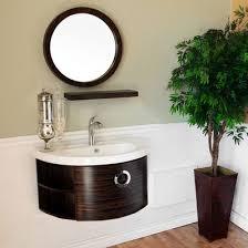 modern 34 single sink bathroom vanity