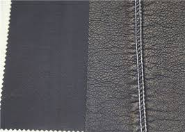 waterproof premium pu leather dark gold polyurethane faux leather fabric