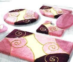 bathroom mats sets 3 pieces 5 piece bathroom rug sets entertaining 3 piece bathroom rug set