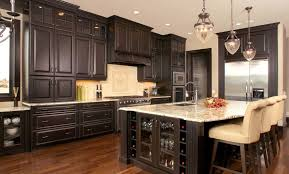 kitchens with black distressed cabinets. Black Distressed Kitchen Cabinets Within Secret To Create Kitchens With