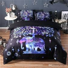 boho duvet cover bohemian bedding sets elephant duvet cover set for twin queen king size bed