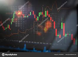 Eur Cad Investing Chart Stock Market Trading Graph Investment Chart Stock Photo