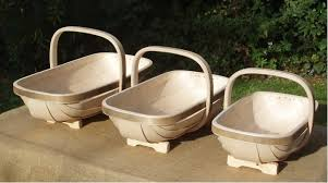 above available in three sizes a traditional trug baskets is available for from 33 80 to 40 80 depending on size from uk based the natural gardener