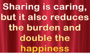 Sharing Is Caring Saying And Quote