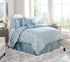 Northern Nights Jacquard Reversible 6 or 7 Piece Comforter Set  QVC.com