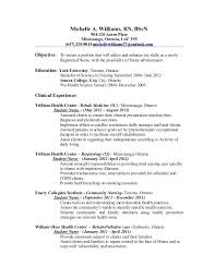 Example Rn Resume Nursing Resumes Sample Nursing Resume Objective ...