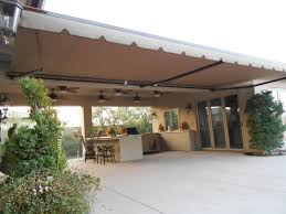 Proper Awnings For Decks Cement Patio