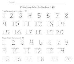 Match Colour Numbers Kids Stock Vector Kindergarten Number Tracing ...
