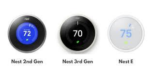 Nest Thermostat Reviews Nest 2nd Generation Vs Nest 3rd