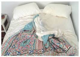 Blue bed sheets tumblr Cozy Quilt Pillow Cute Colorpattern Cover Tumblr Bedding We Heart It Blue Bed Sheets Tumblr