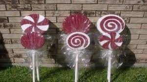 Diy Outdoor Christmas Candy Decorations - YouTube