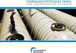 Fiberglass Petroleum Tanks For Underground Storage Pdf
