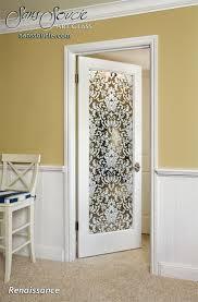 renaissance positive decorative glass doors