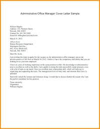 Property Manager Cover Letter No Experience Commercial Property