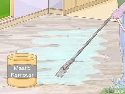 3 ways to remove mastic wikihow