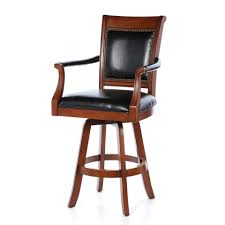 leather bar stools with arms. Full Size Of Kitchen, Calssic Leather Bar Stools Adjustable Swivel Black Letaher Upholstered Solid Wood With Arms