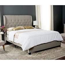 Amazon Safavieh Blanchett Light Beige Linen Upholstered
