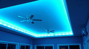 Crazy Ceiling Lights Blue Light Ceiling Fan Home Lighting Design Ideas