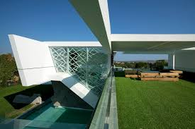 ultra modern architecture. Contemporary Modern Terrace And Facade Of An Impressive Ultra Modern House In Athens Inside Architecture U