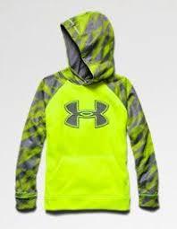 under armour youth hoodie. under armour big boys\u0027 ua storm armour® fleece logo blocked hoodie youth medium high-vis yellow