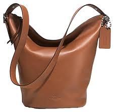coach bleecker leather flap shoulder handbag  coach shoulder bag