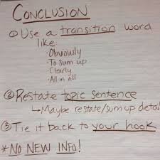 How To Start An Expository Essay The Basics Of A Conclusion For An Expository Essay