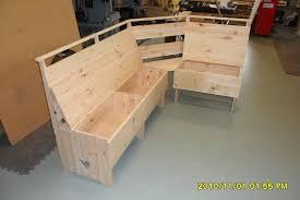 kitchen nook storage bench plans scyci