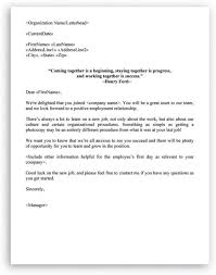 welcome email template for new employee. Welcome Letter Format for New Employee HR Letter Formats