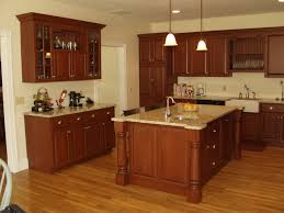 Kitchen Island With Granite Countertop Brown Wooden Kitchen Cabinets And Island With Granite Countertop