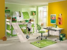 Kids Bedroom Decorating For Boys Bedroom Beautiful Green White Wood Glass Unique Design
