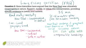 us essay ap us history long essay example us history khan academy  ap us history long essay example us history khan academy ap us history long essay example