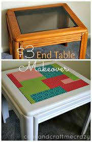 3 end table makeover