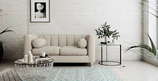 living room minimalist Living Room Design Brown Couch Decosee