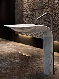 Marble pedestal sink Modern Bathroom Ciuri Noble Marble Pedestal Sink By Lithea Xiamen Kungfu Stone Ltd Ciuri Noble Marble Pedestal Sink By Lithea Home Reviews