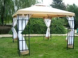 gazebo canopy tent 3 x patio metal gazebo canopy tent pavilion garden gazebo canopy for garden