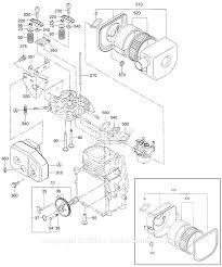 Robin subaru eh09 parts diagram for intake exhaust parts