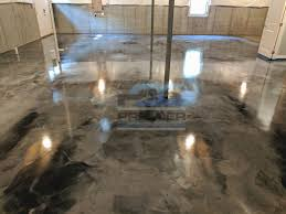 epoxy flooring basement. Basement Floor Epoxy Elegant Metallic Flooring