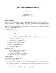 Resume Format For Mba Example Resume Resume Format Mba Hr Fresher