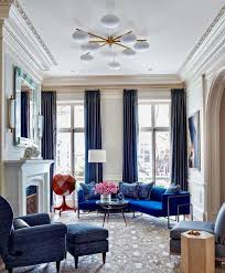 according to both behr and sherwin williams royal blue is one of the top colors this year with such a bold color how do you pull it off while keeping the