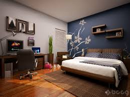 home office paint color schemes. Home Office Paint Color Schemes Blue Accent Wall Bedroom R