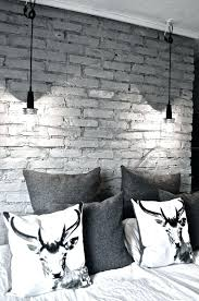 stylish ideas for painting interior brick walls decor with best painted on wall paint designs using