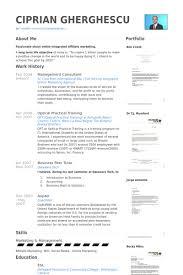 Management Consultant Resume Samples Visualcv Resume Samples Database