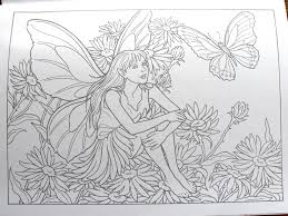 Fairies To Paint Or Color Dover